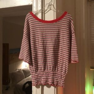 Free People fine knit top